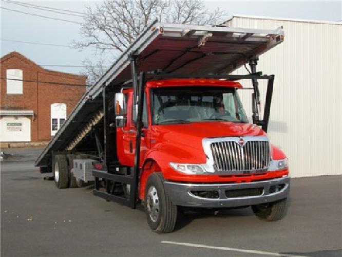 $100,000 PRICE DROP!! 2012 International 4400 Ext Cab 4 Car Carrier