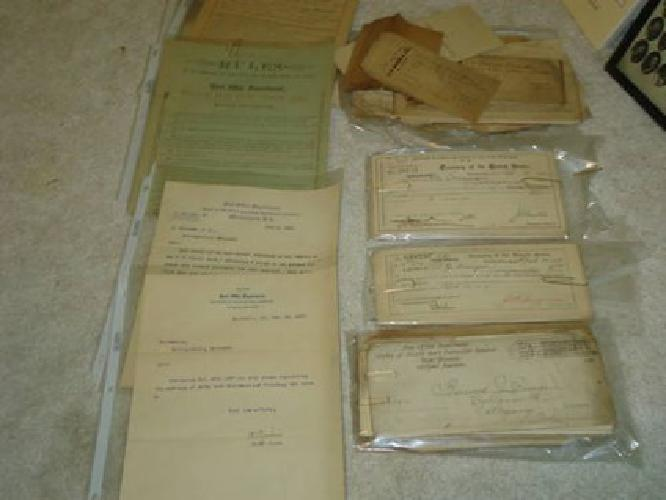 $100 1800s RARE Paperwork from Cumberland, MD