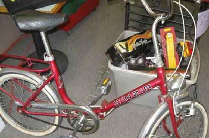 $100 1960'S Cinzia Folding Bike