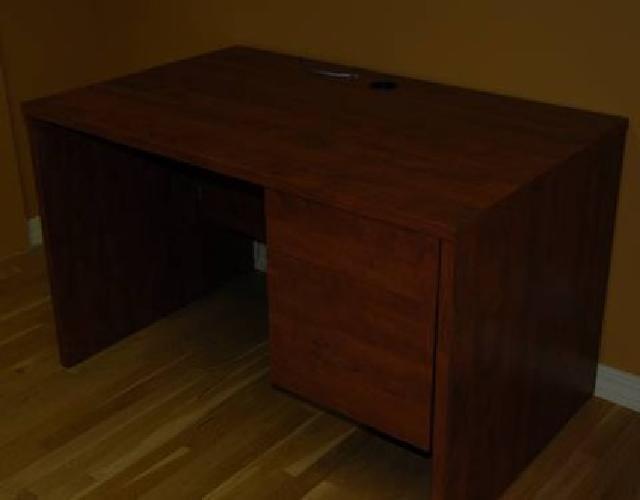 $100 2-Drawer Laminate Office Desk
