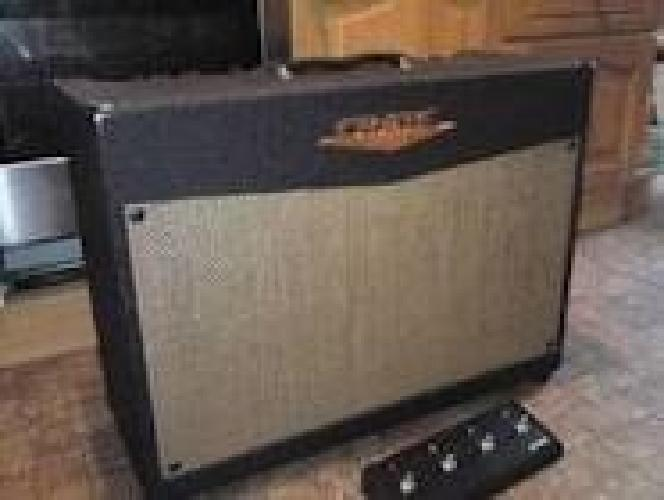 $100 Crate 200 amp with footswitch