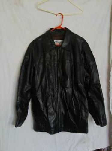 $100 Exquisite Black Leather Jacket