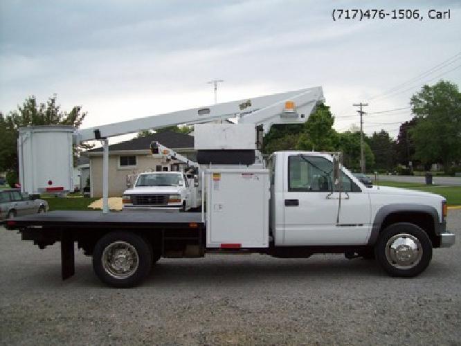 $100 FOR RENT! Refurbished 2000 Chevrolet 3500HD Bucket Truck