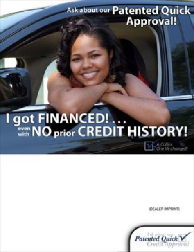100% Guaranteed approval on Financing on a vehicle