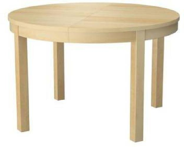 100 Lightly Used Ikea Bjursta Dining Kitchen Table With Leaf For Sale In Philadelphia