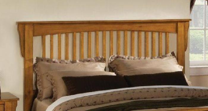 100 Mission Style Pine Finish Queen Headboard Was 150