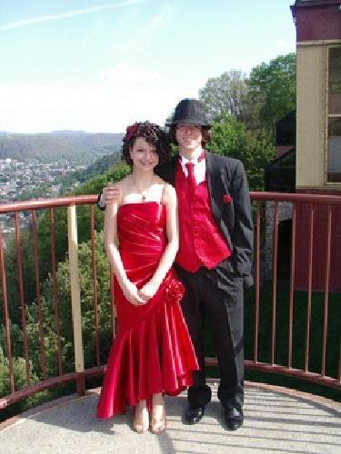 $100 OBO Red Vintage Prom Dress