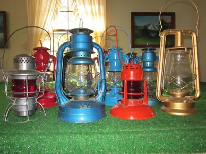 $100 Old Kerosene Laterns