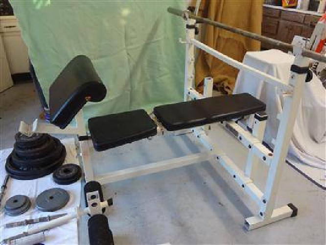 100 Olympic Bench Press For Sale In Tampa Florida Classified