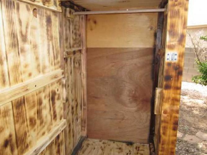 100 Rustic Wood Cabinet Clothing Closet Eastside Tucson