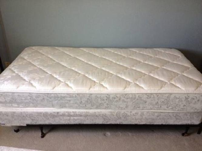 Hanover HMATMF08-FL Tranquility Memory Foam Mattress, Full, White