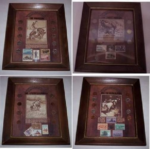$100 US Vintage Coins and Stamps