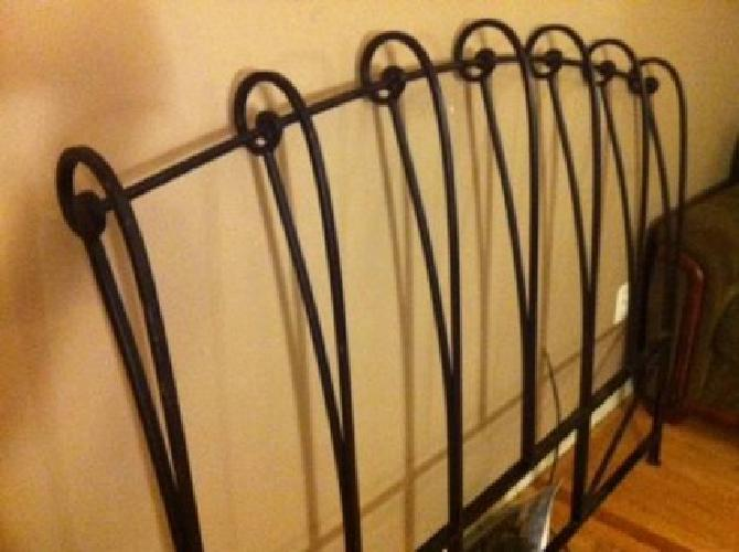 100 Used Wrought Iron Headboard Queen Size From Pier1