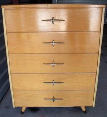 Ordinaire $100 Vintage Edison McGraw LITTLE FOLKu0027S FURNITURE Dresser Walnut   Retro