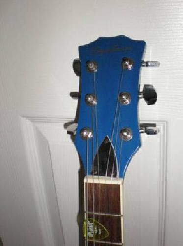 $105 Spectrum electric guitar and two amps