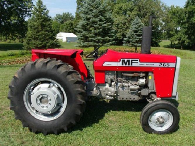 $10,000 1975 Massey Ferguson tractor