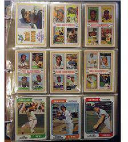$10 1974 Topps Baseball Set with Traded Set