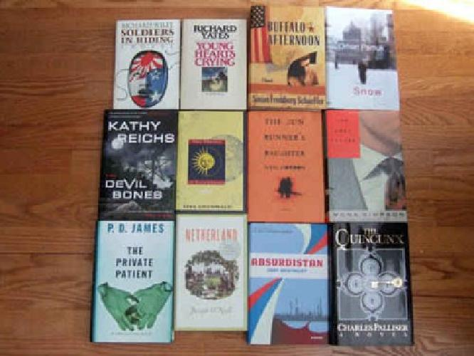 $10 23 Hardcover Novel Book Collection Lot USED HB Excellent Condition
