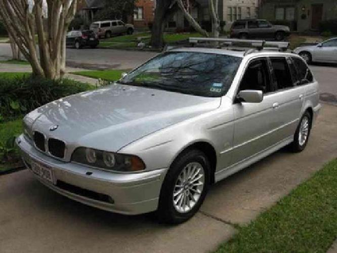 10 300 2002 bmw 540i station wagon for sale in houston texas classified. Black Bedroom Furniture Sets. Home Design Ideas