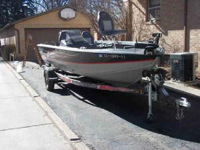10 500 cabelas sea ark 18ft fishing sport boat for sale