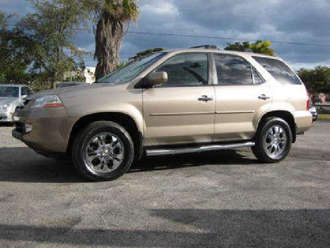 Acura  Price on 10 9952003 Acura Mdx Touring Like New  Call Raul In Fort Lauderdale