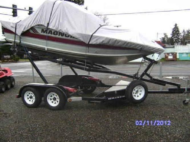 Combination Boat And Car Trailer For Sale