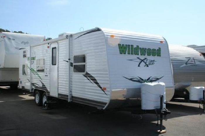 $10 999 2010 26Bh Wildwood travel trailer with bunk beds