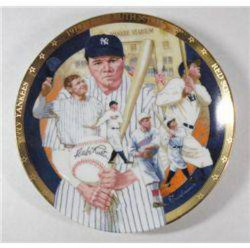 $10 Babe Ruth Collectors PLate