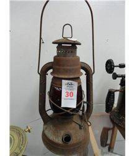 $10 Dietz Red Railroad Lantern