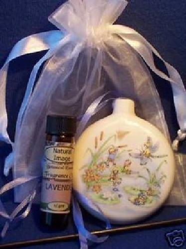 $10 Fragrance Oil Diffuser-Pomander & Oil~Works by Lamp Heat!!