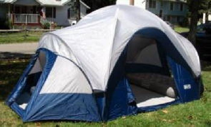 $10 Great Land Outdoor 8 Person Dome Tent 3 Rooms! & $10 Great Land Outdoor 8 Person Dome Tent 3 Rooms! for sale in ...