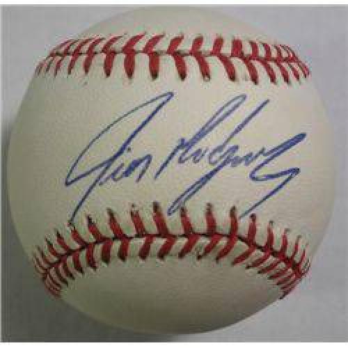$10 Ivan Rodriguez Autographed Baseball