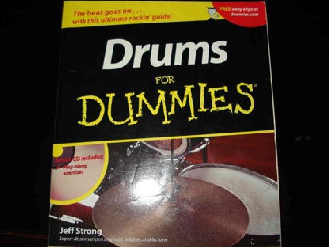 $10 Learn to Drum book/cdRom -