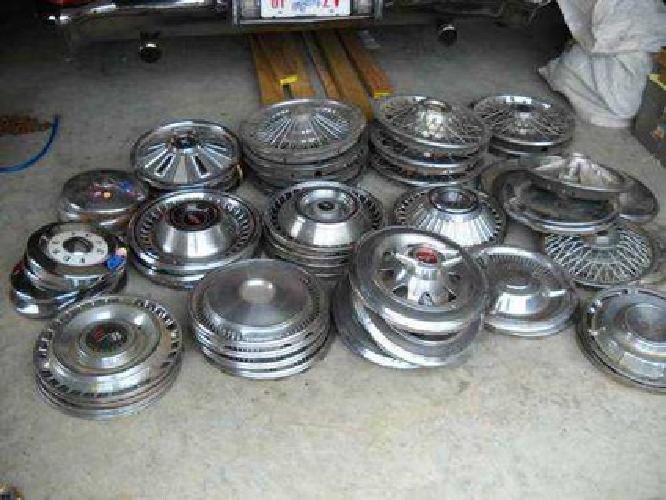 $10 Many Old Classic Car Parts & Hub Caps