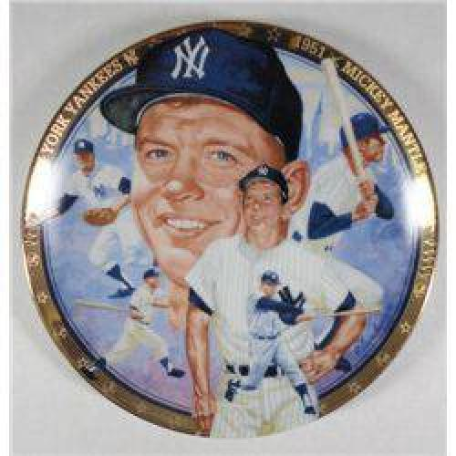 $10 Mickey Mantle Collectors Plate