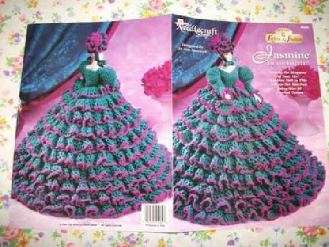 10 Oop Barbie Fashion Doll Clothes Elegant Thread Crochet Pattern