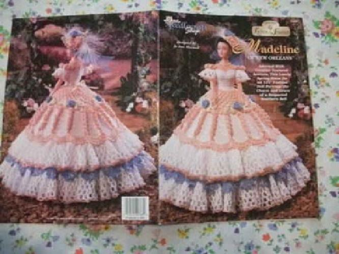 10 Oop Southern Belle Barbie Doll Clothes Thread Crochet Pattern