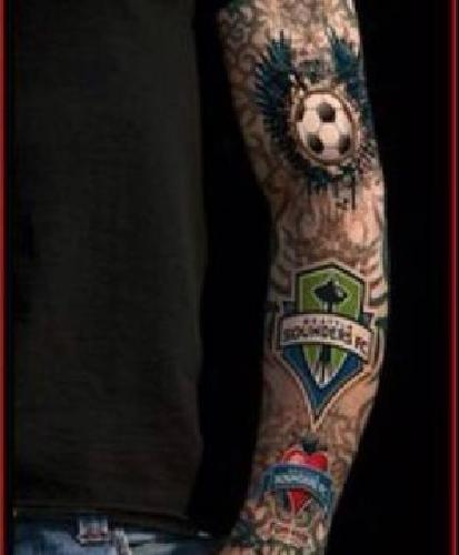 10 seattle sounders tattoo sleeve for sale in houston