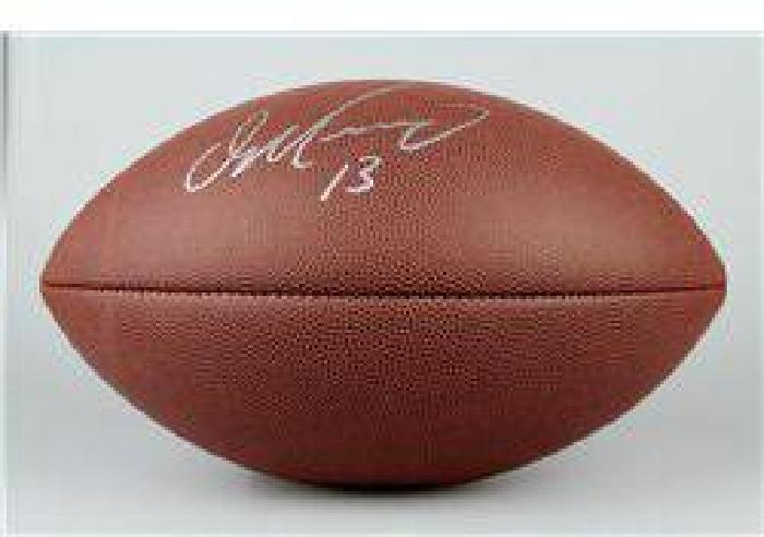 $10 SIGNED-Dan Marino NFL Football Gridiron COA