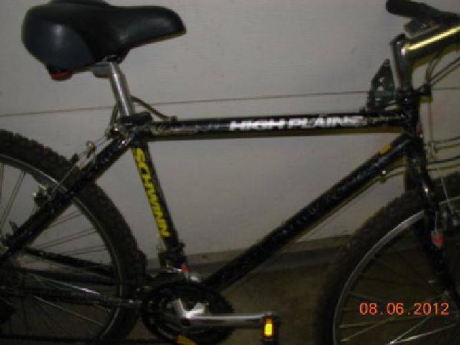 """$110 Black Schwinn Snow Bike, Mens,Med 21spd, W/ 26"""" MTB tires -B/O (Near Elmore & for sale in ..."""