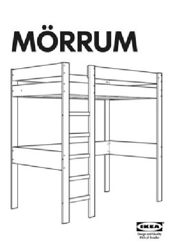 110 Ikea Morrum Loft Bed For Sale In Berkeley California