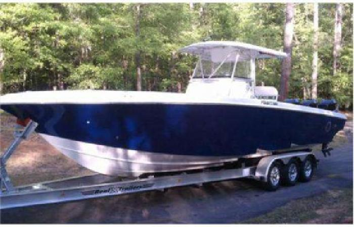 $119,875 2007 34 (ft.) Fountain Powerboats Inc (Under 100 Hours! 3 Years Warranty!)