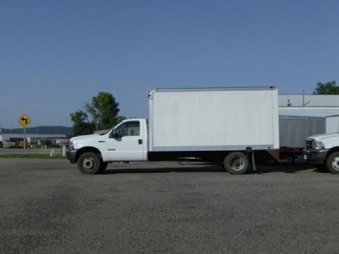 $11,000 OBO F-550 2002, 7.3 Diesel, Cube Truck