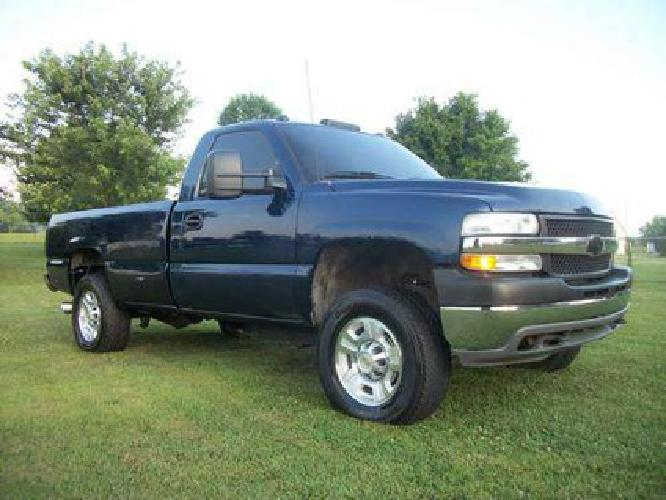 11 500 2001 chevy duramax diesel 4x4 for sale in bardstown kentucky classified. Black Bedroom Furniture Sets. Home Design Ideas
