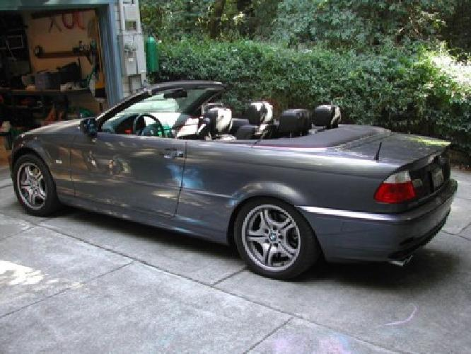 11 500 charcoal grey 2001 bmw 330 ci convertible for sale in miami florida classified. Black Bedroom Furniture Sets. Home Design Ideas
