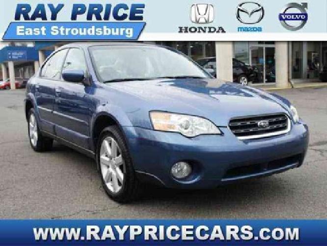 $11,995 2007 Subaru Legacy Sedan Outback Ltd
