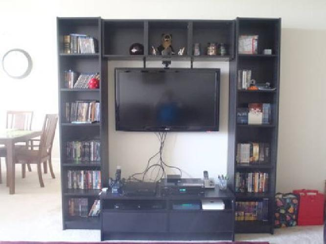 120 4 piece ikea entertainment center for sale in for Ikea call center careers