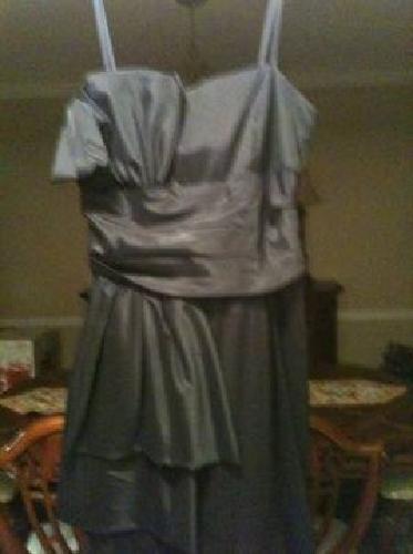 $120 Elegant Black Strapless Prom Dress