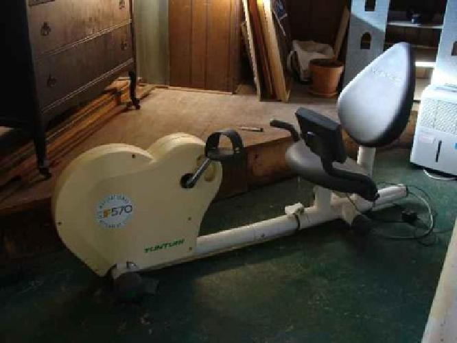 $120 EXERCISE BIKE Tunturi F570 recumbent exercise bike, Excellent condition