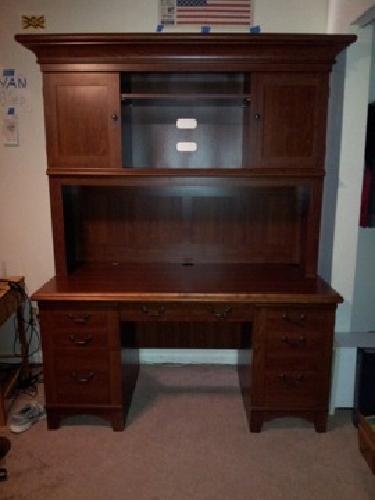 $120 OBO Computer Desk with Hutch